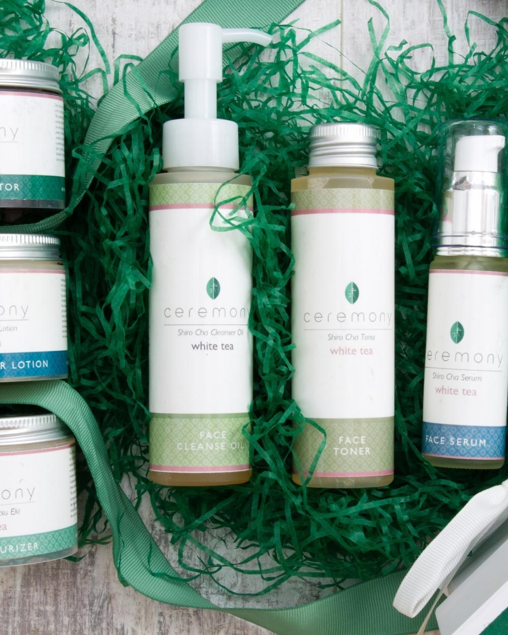 White Tea Luxury Gift Box Ceremony Skincare